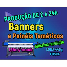 Banner Impressão Digital Preço Revenda Altíssima Resolução