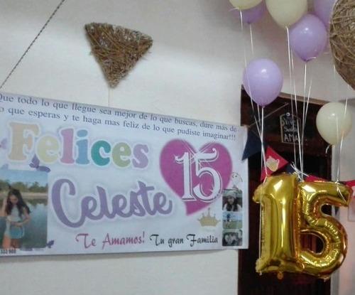 banner interiores, cartel pancarta, pasacalle - 150 x 80 cm