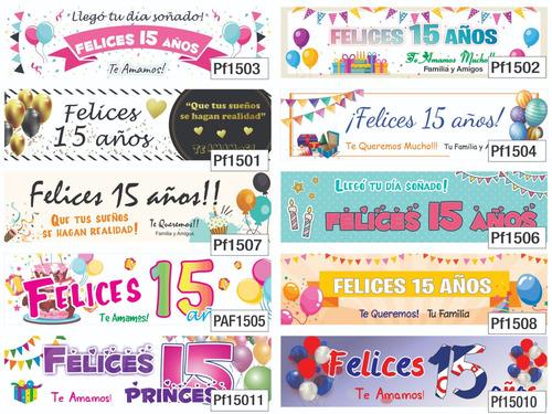 banner interiores, cartel pancarta, pasacalle - 300 x 80 cm
