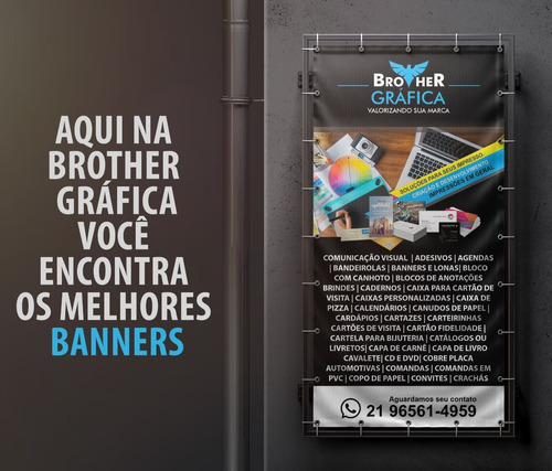 banner lonas - brother gráfica