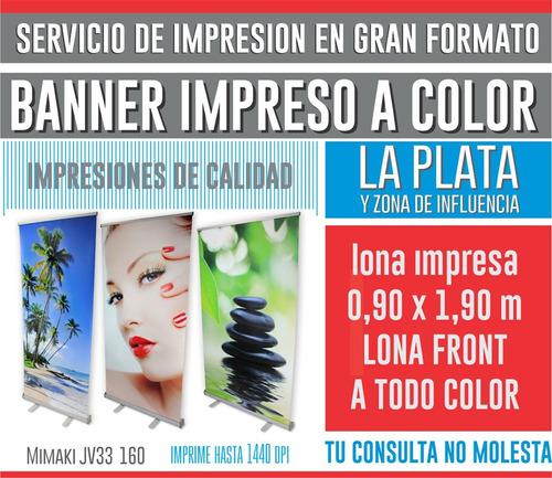 banner lonas vinilos gigantografia impresiones - la plata