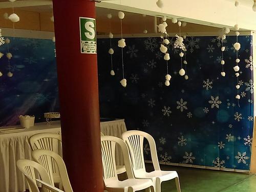 banner o fondo pared ( frozen, navidad u otro uso)