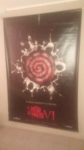 banner / poster de lona el juego del miedo 6
