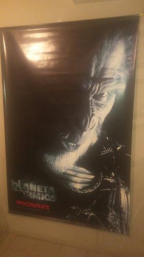 banner / poster de lona el planeta de los simios tim burton