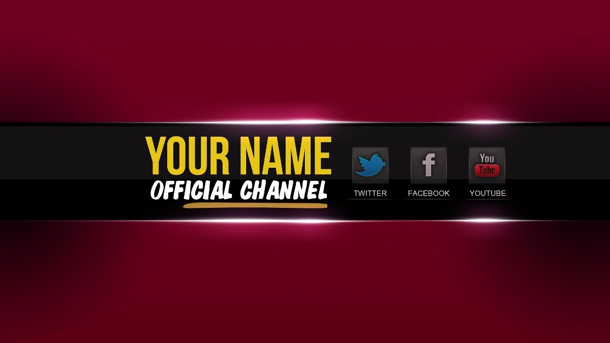 Banner Profissional Para Youtube