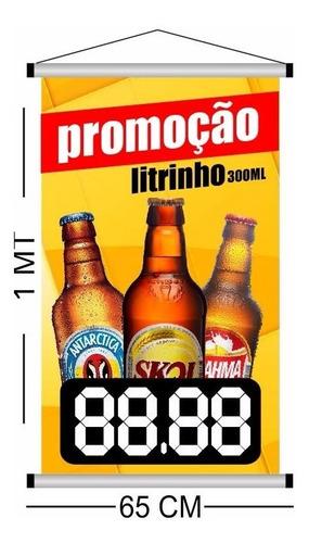 56d38598d6882 Banner Promoção Cerveja Litrinho Antarctica Brahma Skol - R$ 39,00 ...