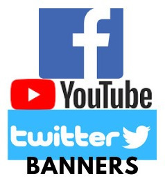 banners personalizados para twitter, facebook e youtube