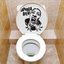 Calcomania, Sticker Decorativo Para Tu Baño Wc
