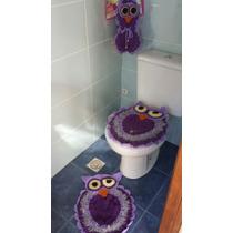 Juego Para Vestir El Baño En Crochet