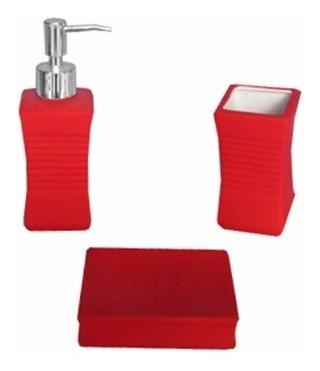 baño accesorios set