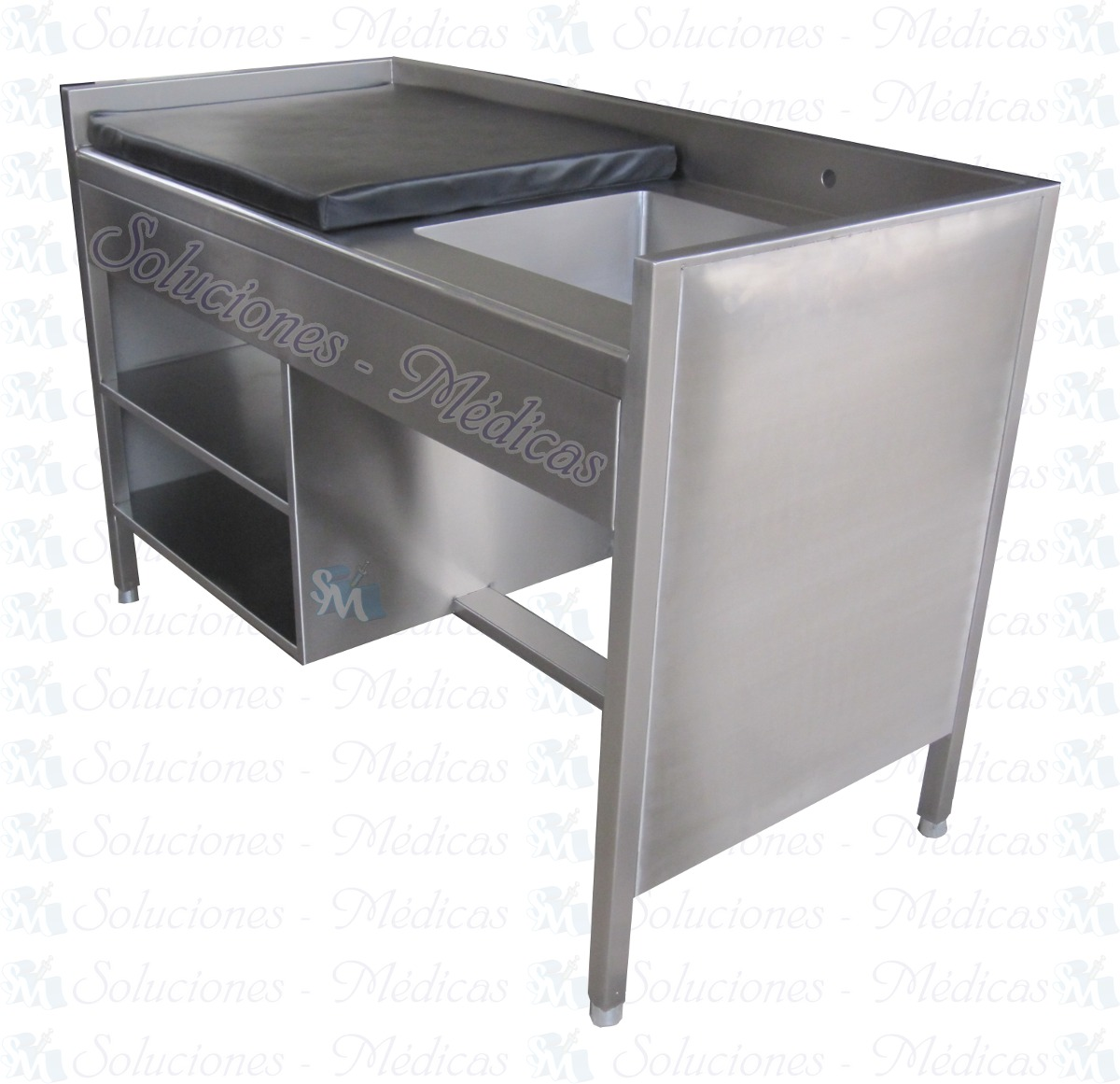 Ba o artesa de acero inoxidable 26 en mercado libre for Muebles para bano acero inoxidable