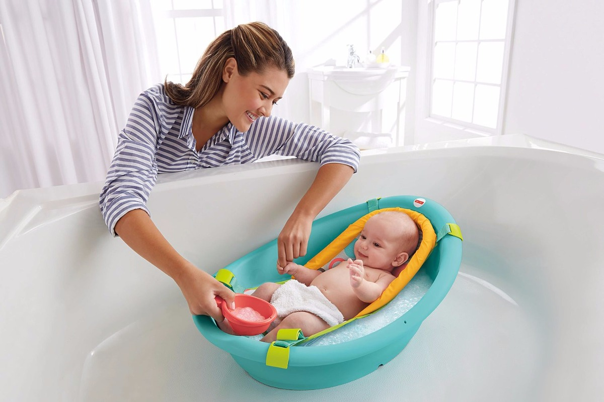 Ba Era Ba O Bebe 3 In 1 Fisher Price Ergonomica Ducha