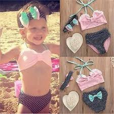 8fac4a480 Traje De Baño Para Niña Bikini Fashion! -   290.00 en Mercado Libre