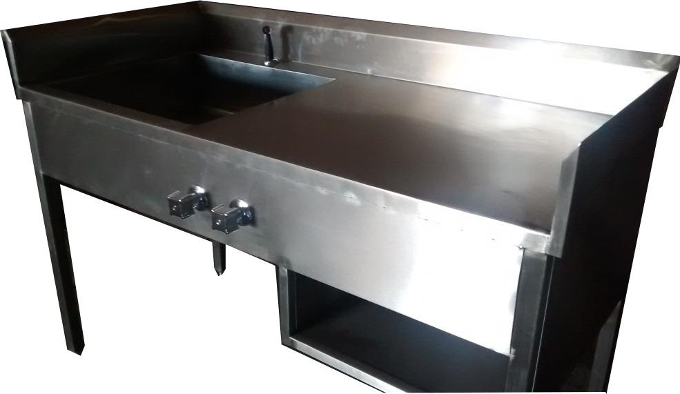 Ba o de artesa de acero inoxidable 15 en for Estanteria bano acero inoxidable