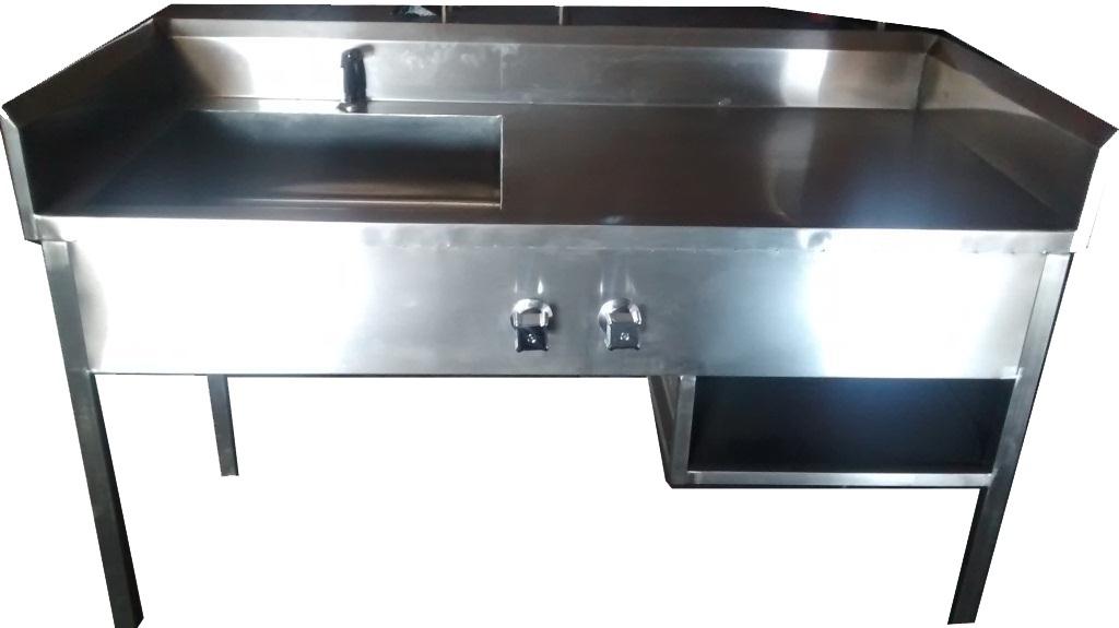 Ba o de artesa de acero inoxidable 15 en for Muebles para bano acero inoxidable