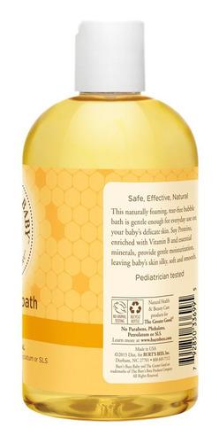 baño de burbujas burts bees baby 350ml