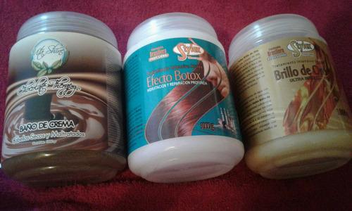Ba o de crema chocolate brillo de oro botox bs - Bano de keratina precio ...
