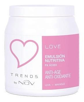 baño de crema nutricion máscara nov trend love x 980g