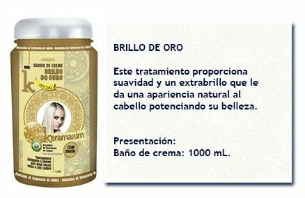 Ba o de crema por litro botox brillo de oro bs - Bano de keratina precio ...