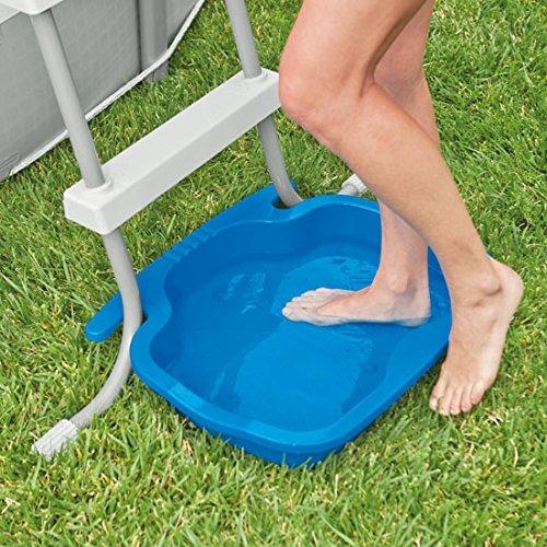 baño de pies intex para escaleras de piscina intex