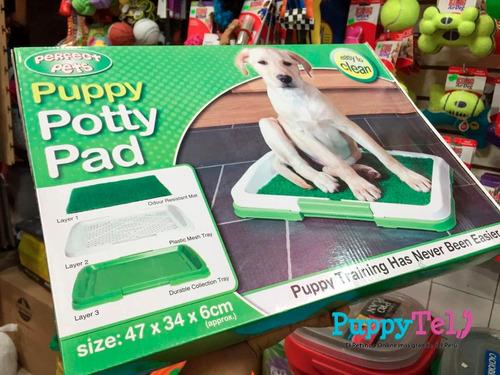 baño ecologico portatil mediano para perros puppytel