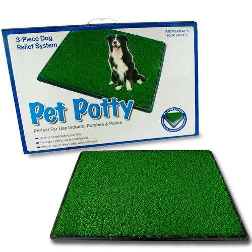 baño ecológico xxl para perros y gatos pet potty / rebajas