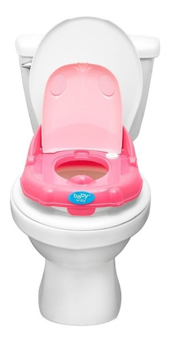 baño entrenamiento baby way bw-bas01 celeste - fucsia