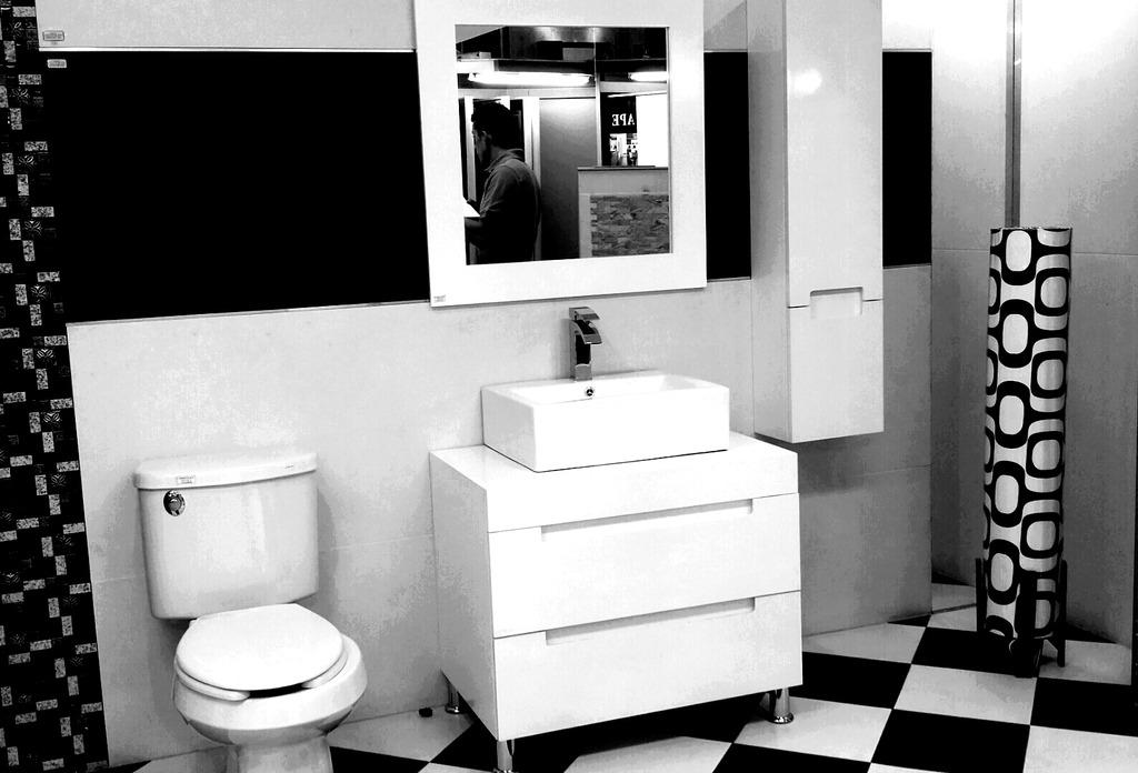 Muebles Para Baño Mdf Color Blanco Espejo Y Gabinete Aby ...