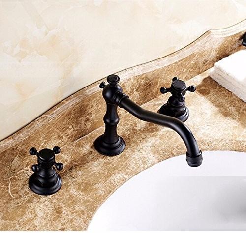 Llaves para ba o grifo lavabo estilo antiguo bronce for Llaves para regadera precio