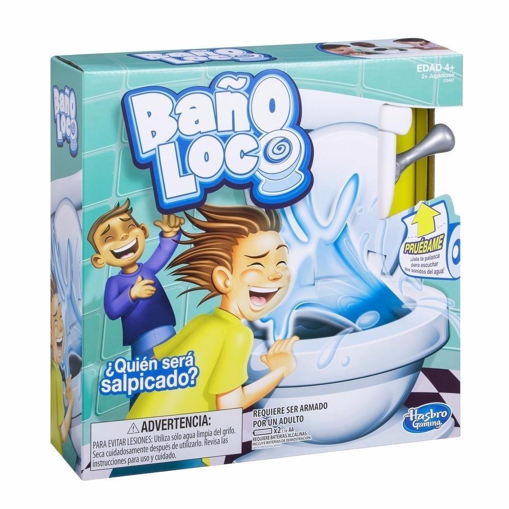 Bano Loco Quie Sera Salpicado Juego De Mesa Hasbro 1 499 00 En