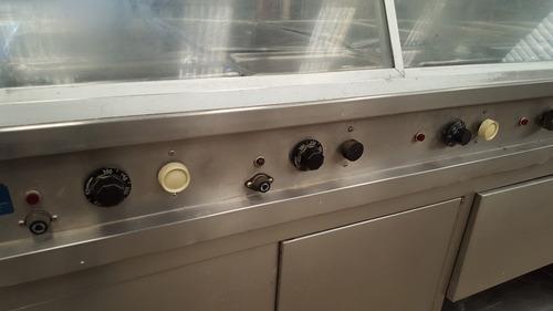 baño maria hobart de linea electrica 14 charolas trabajando