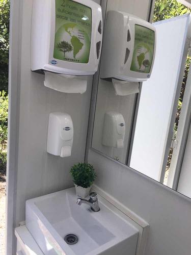 baño móvil de lujo