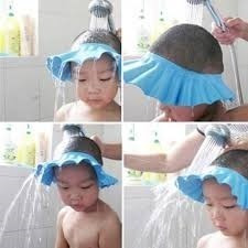 baño para bebés visera para