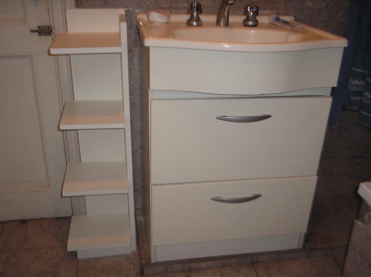 Mueble en melamina ba o toallero de melamina para toallas for Muebles para toallas
