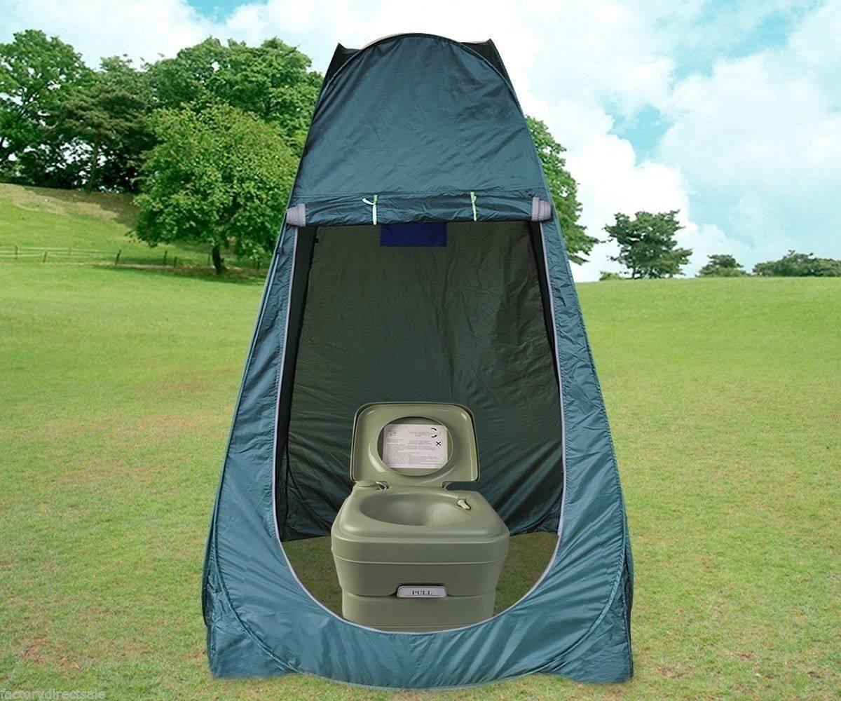 Ba o port til flush viaje acampar aire libre comodidad - Duchas portatiles camping ...