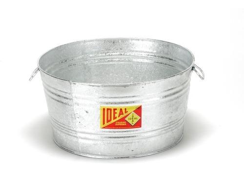 baño redondo de lamina galvanizada ideal - #8 -149 litros