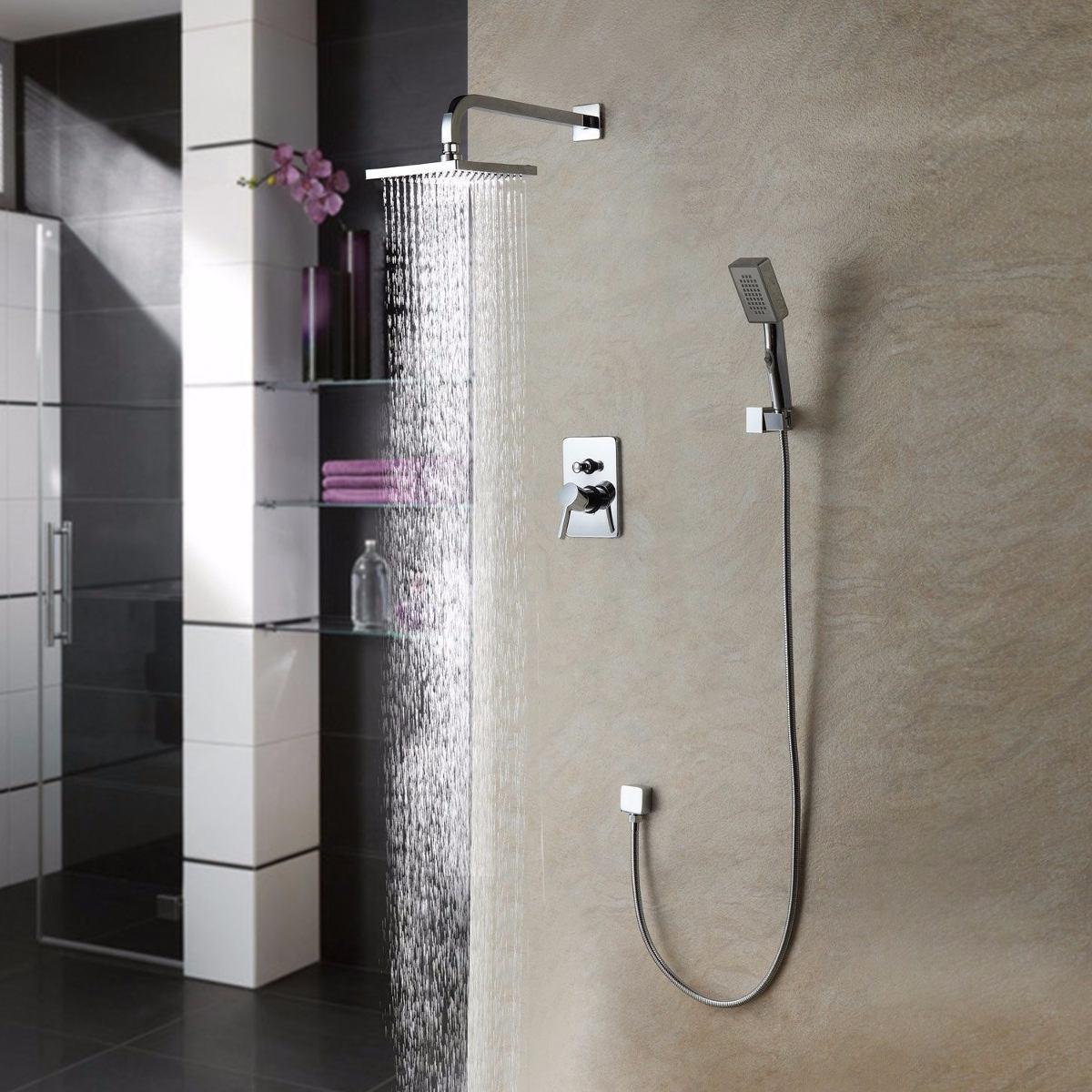 Llave ouku ba o ducha regadera fija y de telefono for Articulos de ducha