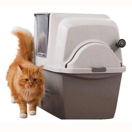 baño sanitario de lujo para gatos  smartsift  - catit