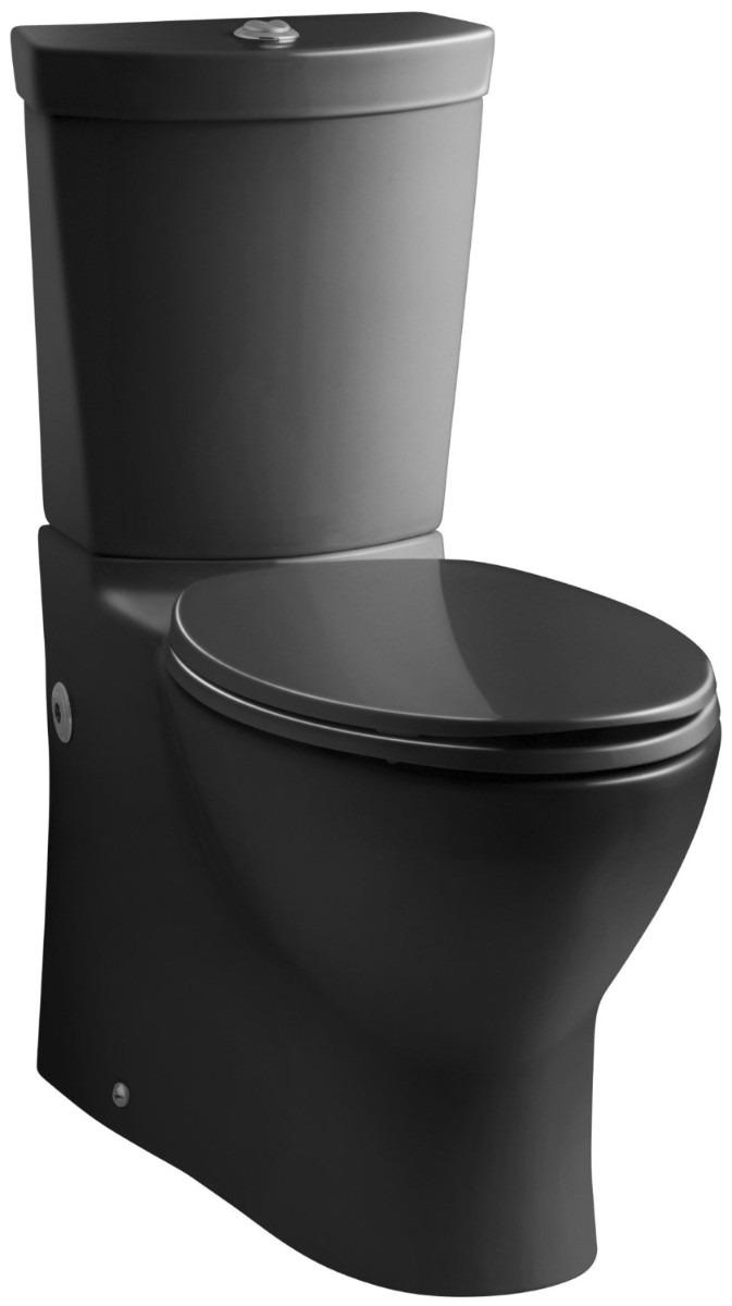 Ba O Sanitario Negro Inodoro Moderno Contemporane Kohler Vv4  # Muebles Sanitarios Kohler
