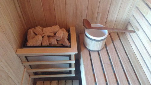 baño sauna seco finlandez