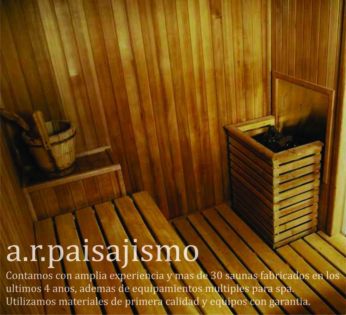 Bano Sauna Seco Madera Para 2 Para Intemperie Interno O Ext - Sauna-madera