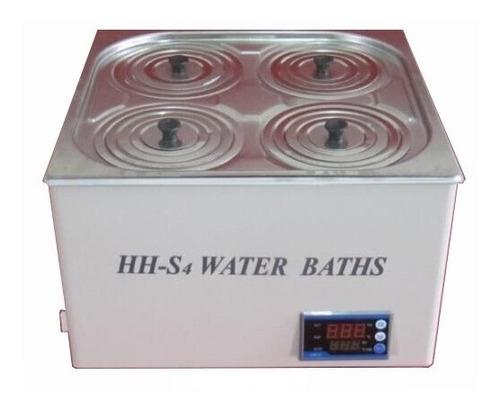 baño termostático arcano  hhs4 4 posiciones para laboratorio