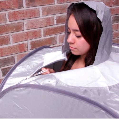 baño vapor sauna portatil spa personal cuidado belleza  car