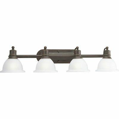 baño y tocador madison antique bronze lighting con 4 luces