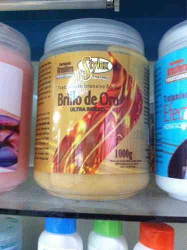 baños de crema stylex  brillo de oro keratina y botox