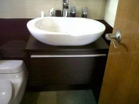 baños en madera! muebles para baño trabajos a la medida!