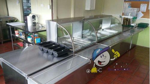 baños maria mesas fria