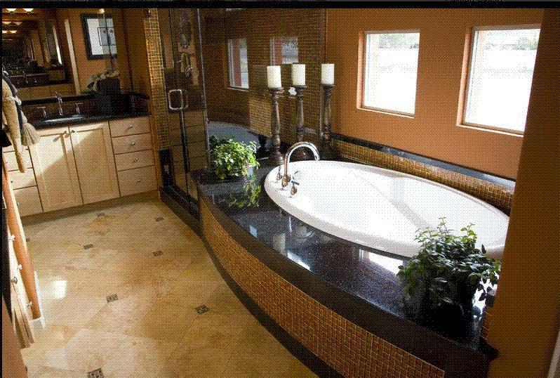 Ba os marmol para ba os pisos y acabados naturales for Piso de marmol negro