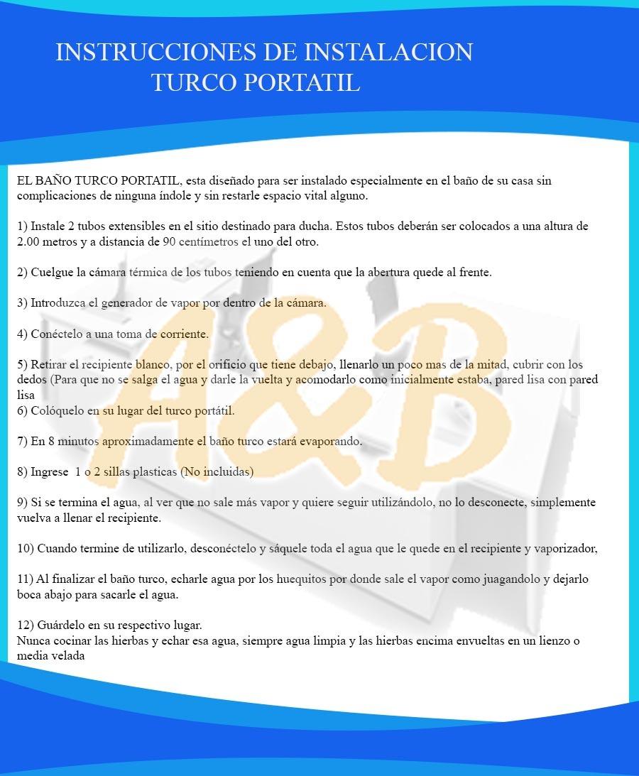 Baños Turcos Portatiles - $ 460.000 en Mercado Libre