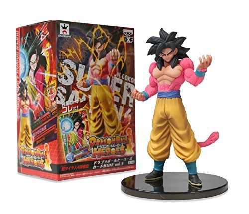 banpresto 49454 dragon ball heroes dxf volumen 3 con tarjeta